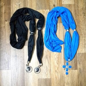 Accessories - Set of 2 fashion scarves